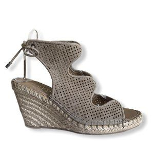 🆕 Franco Sarto Nash Perforated Wedge Sandal